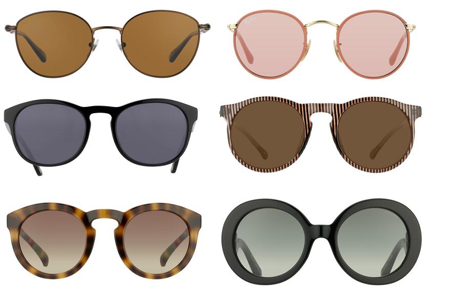 lunettes rondes homme,lunettes de soleil rondes verres miroir,lunette ronde  gucci b761e52cad5d